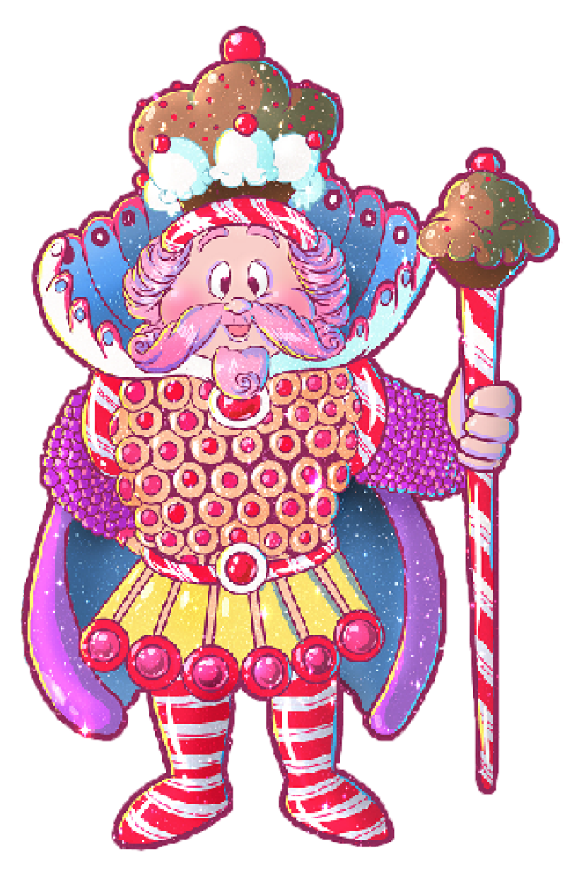 Candyland King Candy The Quest to Candy Cas...